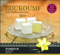 Loukoumi with vanilla flavour 200 ml