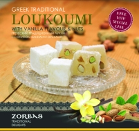 Loukoumi with vanilla flavour & nuts 200 ml